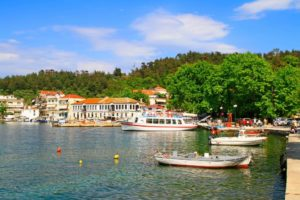 Old port thasos